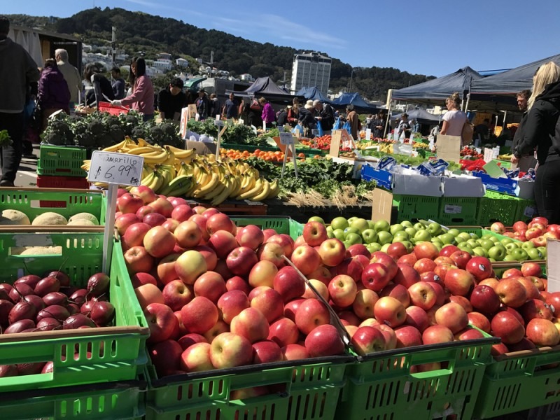 Harbourside Market in Wellington