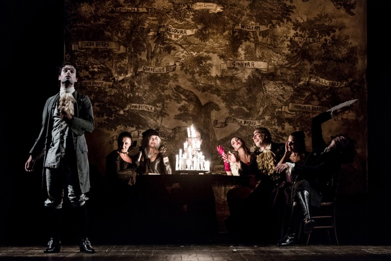 """Barry Lyndon"", regia Giancarlo Sepe. Foto Salvatore Pastore"
