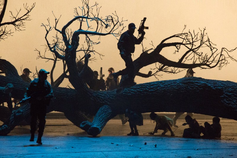 """Guillaume Tell"", regia Damiano Michieletto. Foto Rosellina Garbo"