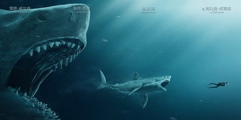 """Shark - Il primo squalo"" (The Meg) di Jon Turteltaub"