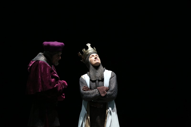 "Maddalena Crippa in ""Richard II"" di Peter Stein"