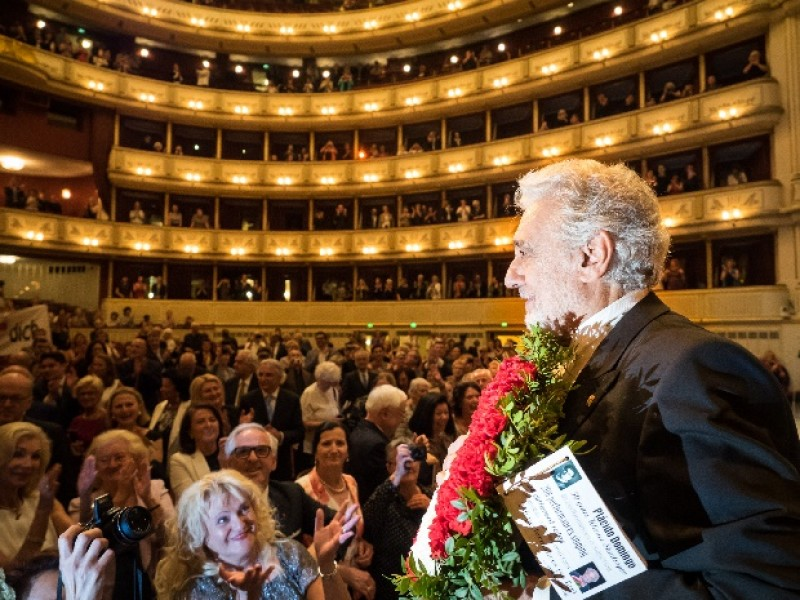 Placido Domingo. Foto Wiener Staatsoper, Ashley Taylor