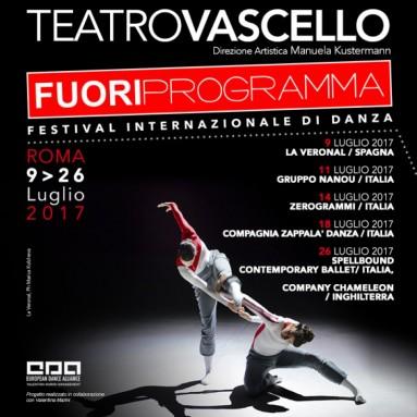 """ROMA: """"FUORI PROGRAMMA"""", Festival Internazionale di Danza Contemporaneo - Teatro Vascello 9-26 luglio 2017"""