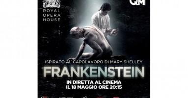 La nuova attesa produzione della Royal Opera House in anteprima mondiale nei cinema italiani mercoledì 18 maggio alle 20:15 Frankenstein - regia e coreografia Liam Scarlett