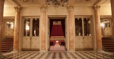 """Firenze, Teatro della Pergola - Conferenza stampa di """"Sipario"""" per illustrare le iniziative in programma"""