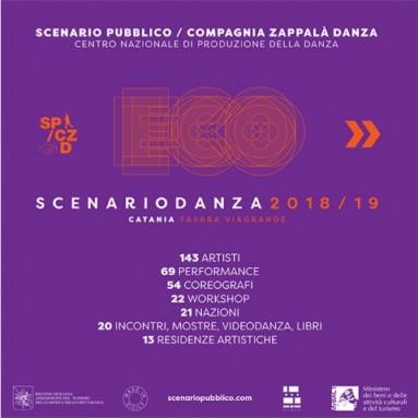 (((ECO))) SCENARIO DANZA 2018/19 - La stagione del Centro di Produzione Nazionale della Danza Scenario Pubblico