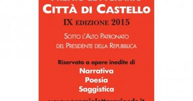 PREMIO LETTERARIO «CITTA' DI CASTELLO» IX edizione 2015