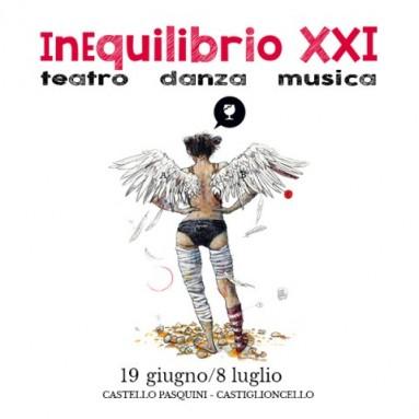 INEQUILIBRIO - XXI edizione Castello Pasquini – Castiglioncello (LI) 19 giugno-8 luglio 2018