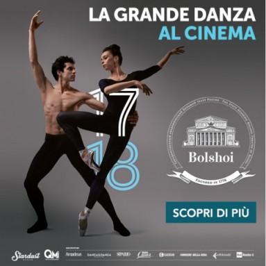 Da ottobre 2017 a giugno 2018 QMI Stardust porta nelle sale italiane 8 capolavori della danza, tra classici intramontabili e primi allestimenti