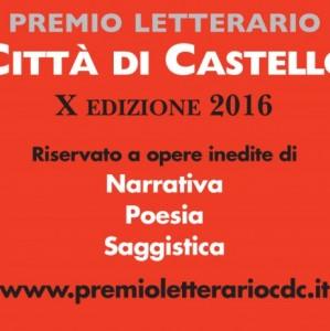 PREMIO LETTERARIO «CITTÀ DI CASTELLO» X edizione 2016