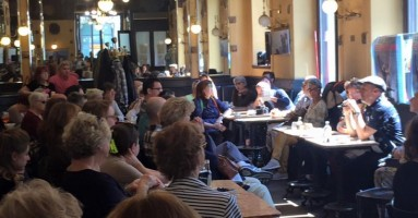 Trieste, Caffé San Marco - Omaggio per la Poesia e il Teatro di Fabio Doplicher per onorare l'illustre cittadino a tredici anni dalla morte