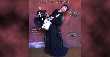 """MILANO, Teatro della Memoria 27 - 28, ore 21 e domenica 1 marzo, ore 16, Benedetta Laurà in """"La la la... quando sei nella merda fino al collo non ti resta che cantare!"""""""