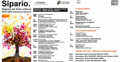 Teatro Bertolt Brecht Cartellone 2014-2015 : Formia, Lazio