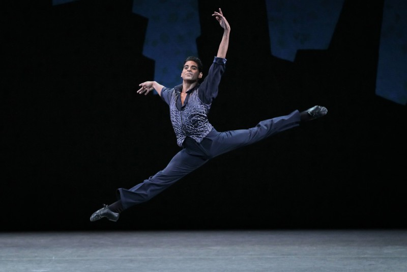 "Amar Ramasar in ""Who Cares"", coreografia George Balanchine. Foto Paul Kolnik"