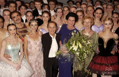 Galina Samsova, Beryl Grey, Wayne Sleep