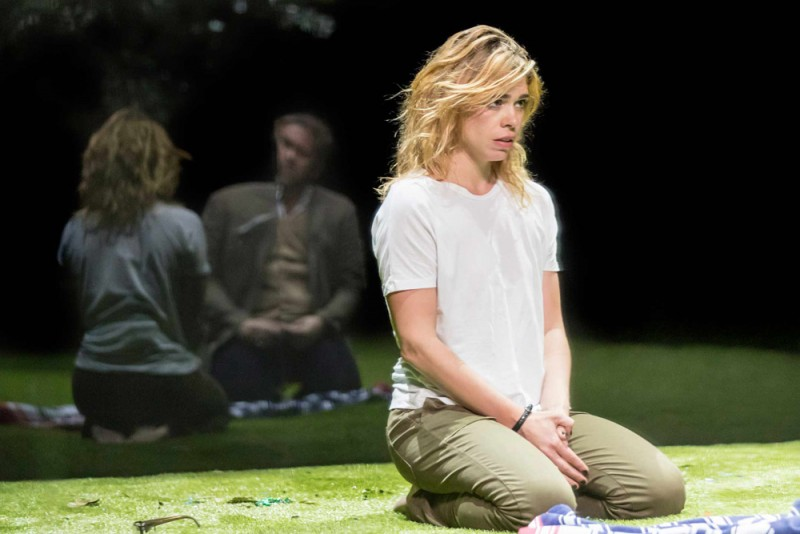 "Billie Piper (Her) in ""Yerma"" al Young Vic. Foto Johan Persson"