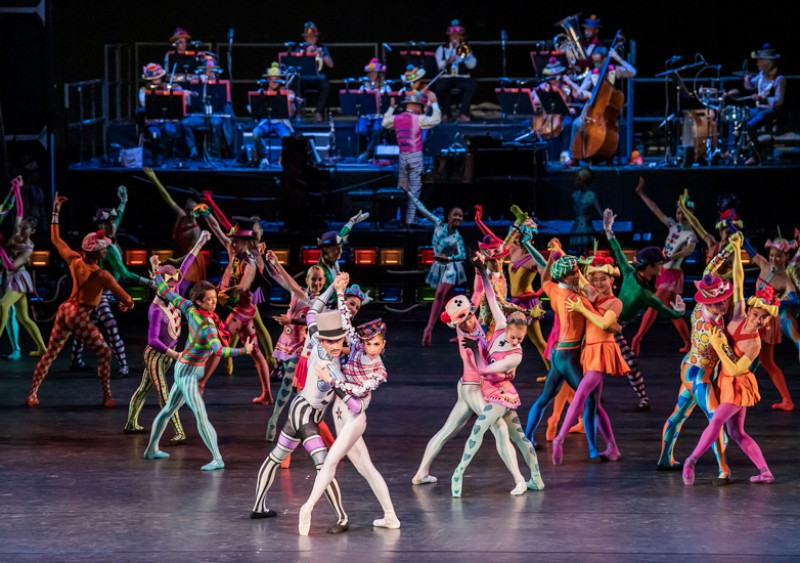 """Elite Syncopations"" coreografia Kenneth MacMillan"