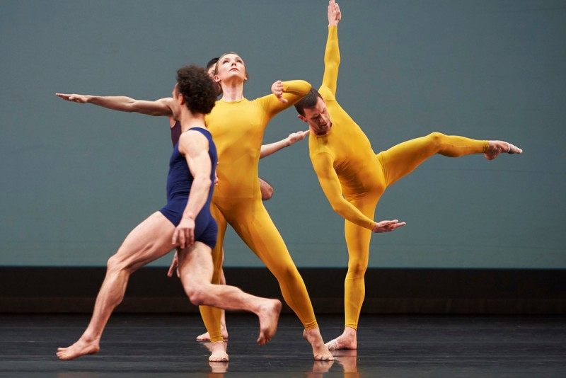 """Night of 100 Solos: A Centennial Event"", coreografia Merce Cunningham. Foto Tom Bowles"