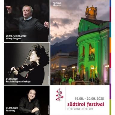 IL SÜDTIROL FESTIVAL MERANO . MERANO 2020l südtirol festival merano . meran 2020