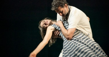 """(LONDRA). """"My Brilliant Friend"""" (L'amica geniale). Elena Ferrante in scena al National Theatre con le sue quattro Storie napoletane. -di Beatrice Tavecchio"""
