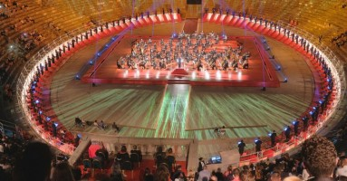"""L'ARENA DI VERONA 2020 - """"Il cuore italiano della Musica"""". Serata dedicata agli operatori sanitari. -di Federica Fanizza"""