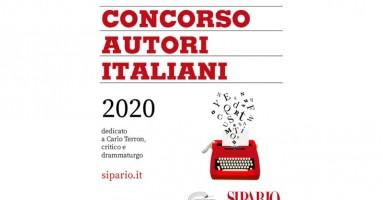 SIPARIO: CONCORSO AUTORI ITALIANI 2020 - AVVISO AGLI AUTORI