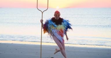 La performance di Nicola Galli e il progetto «Crossing the sea». -di Nicola Arrigoni