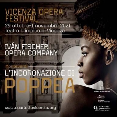 """""""L'INCORONAZIONE DI POPPEA"""" AL VICENZA OPERA FESTIVAL. Dal 29 ottobre al 1 novembre, Teatro Olimpico di Andrea Palladio"""