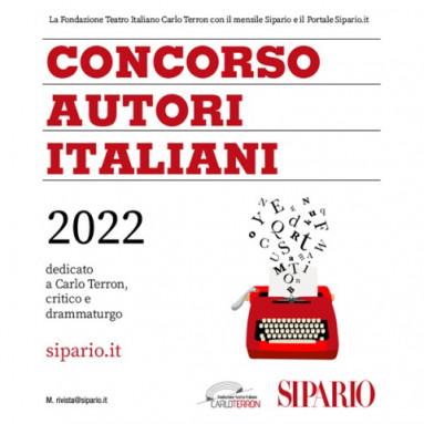SIPARIO: CONCORSO AUTORI ITALIANI 2022 - X Edizione